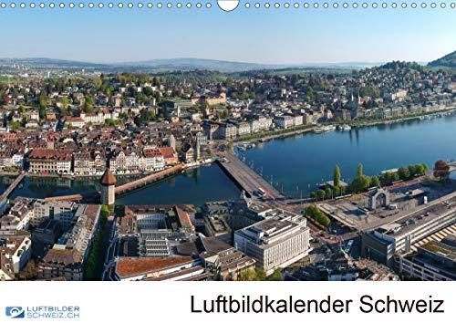 Luftbildkalender SchweizCH-Version (Wandkalender 2021 DIN A3 quer)