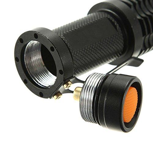 MASUNNMini Lampe De Poche LED Accessoires Bouchon Queue 23Mm