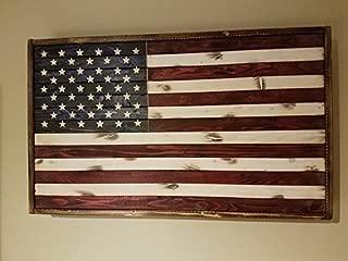American Flag Concealment Box | Rustic Flag | American Flag | Hidden Box |