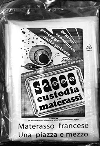 SACCO PLASTICA CUSTODIA MATERASSO FRANCESE