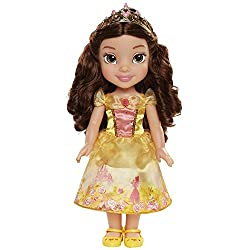 """Belle is approximately 14"""" tall Belle's dress is inspired by her story"""