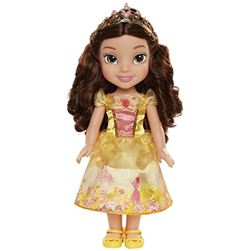 Disney Princess 78847-11L-6 DP Belle Spielpuppe 35 cm, Gelb