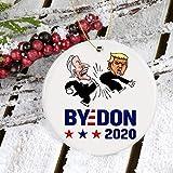 Lplpol Adorno de Biden Win Trump, adorno de despedida de Don, adorno para votación electoral del Presidente 2020, adorno de Biden Harris 2020, votado por Biden