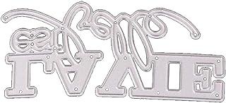 Casecover De Coupe en Métal avec Word Française Alphabet Letter Craft Die pour Le Scrapbooking Carterie Fournitures (Rando...