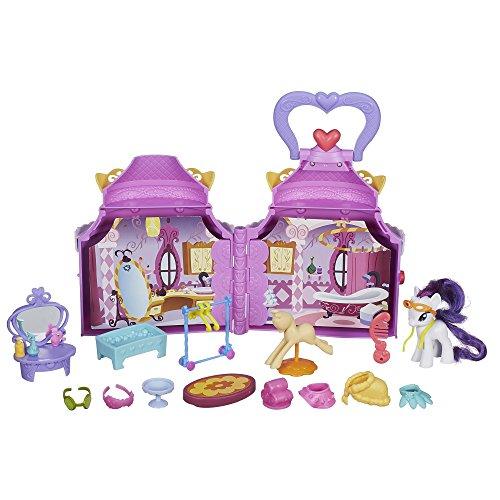 Hasbro My Little Pony Giocattolo–Friendship is Magic–Cutie Mark Magic–Rarity Booktique Playset