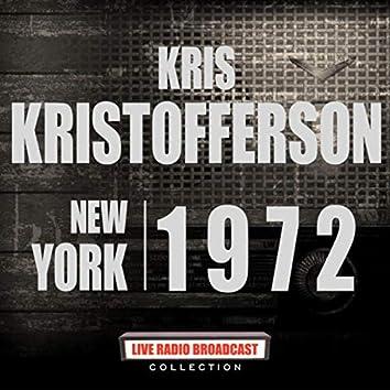 New York 1972 (Live)