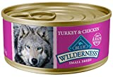 oasis foods company - Blue Buffalo Wilderness High Protein Grain Free, Natural Adult Small Breed Wet Dog Food, Turkey & Chicken Grill 5.5-oz can (pack of 24)