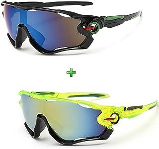 Óculos De Sol Ciclismo Esporte Esportivo Ciclista 2 Unidades
