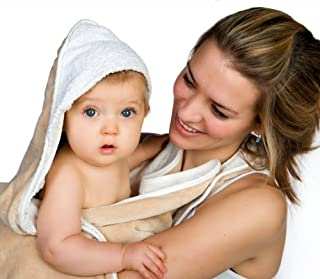 cuddledry baby apron bath towel