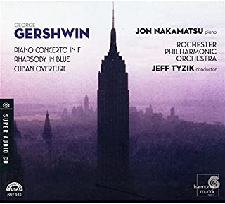 Gershwin: Piano Concerto in F / Rhapsody in Blue / Cuban Overture