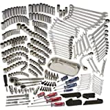 Klutch Mechanic's Tool Set - 360-Pc. 1/4in. 3/8in. and 1/2in. Drive