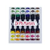 Dr. Ph. Martin's Spectralite Private Collection Liquid Acrylics, 0.5 oz, Set of 12 (Set 2)