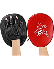 Isuper 1pcs Punch Mitts Suitable for Boxing, MMA, Thai Boxing, Kickboxing, Boxercise, Karate, Taekwondo, Krav Maga, Wing Chun Other Martial Arts