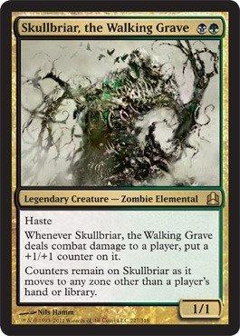 Magic The Gathering - Skullbriar, The Walking Grave - Commander