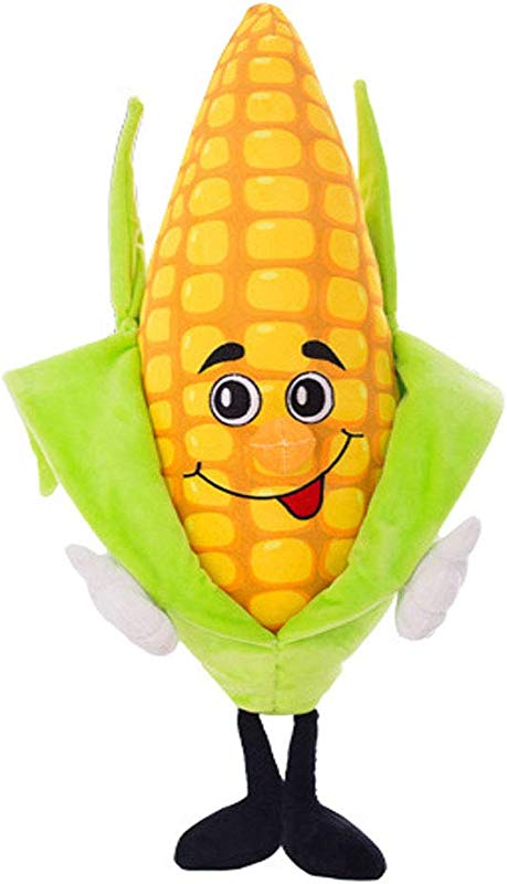 YODE Corn Plush Stuffed Animal Plants Vs Zombies Plush Corn Soft Doll Toys For Children 40cm