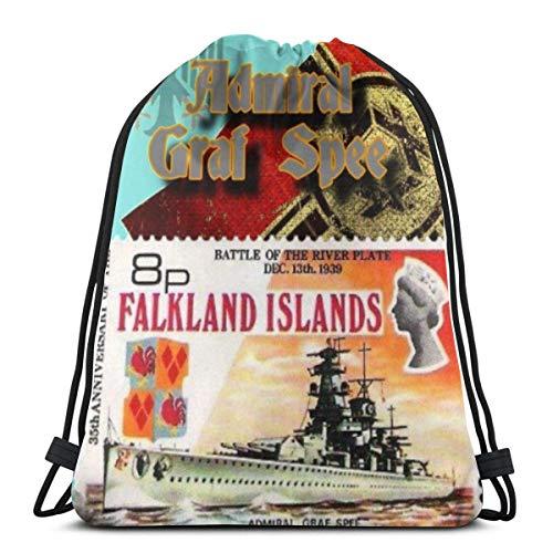 Divertido tejido de ganchillo hilo cesta caso con cordón bolsa de deporte Fitn bolsa de viaje bolsa de regalo