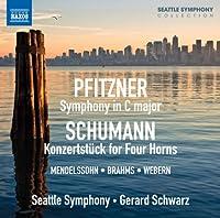 Symphony in C Major/Konzertstuck for Four Horns