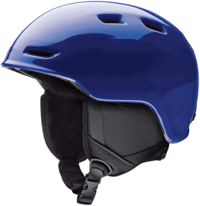 CASQUE FAFY Kinder Ski Warme Helm Helm Helm Skihelm Professionelle Skifahren Sport Schnee Sicherheit Gute Qualität Helm Für Kinder Im Freien Winter,Blau-M B07K1FXF97  Explosive gute Güter 98b756