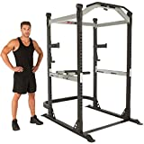 Fitness Reality X-Class Light Commercial High Capacity Olympic Power Cage, Without Lat Pull-Down...