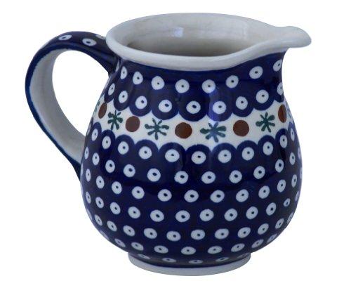 Original Bunzlauer Keramik Milchkanne / Saftkanne 1.6 Liter, Ø21.5cm, H=18.0cm im Dekor 41