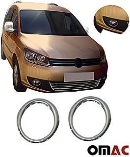 Touran Caddy 2010 Vorne Nebelscheinwerfer Rahmen Ringe Rahmen Edelstahl Auto