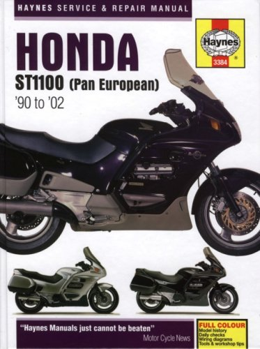 Honda St1100 (Pan European) '90- To '02