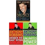 Tony Robbins Collection 3 Books Set (Awaken The Giant Within,...