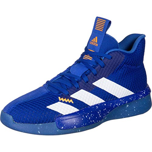 adidas Performance Pro Next 2019 Basketballschuh Herren blau/weiß, 10 UK - 44 2/3 EU - 10.5 US