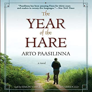 The Year of the Hare audiobook cover art