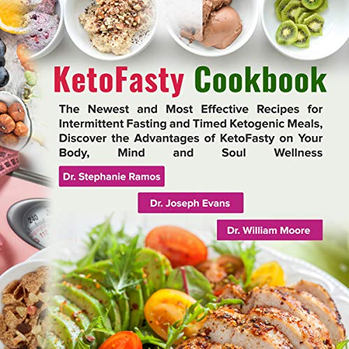 KetoFasty Cookbook audiobook cover art