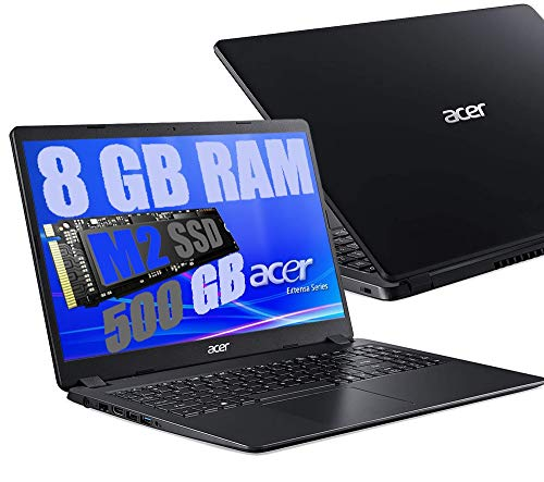Notebook Pc Portatile Acer Display 15.6  HD  Cpu Amd A4 da 1,5ghz A 2,3GHz  Ram 8Gb ddr4  SSD M2 500GB  Vga Radeon R3   Hdmi   Wifi Bluetooth  Licenza Windows 10 pro + Open Office