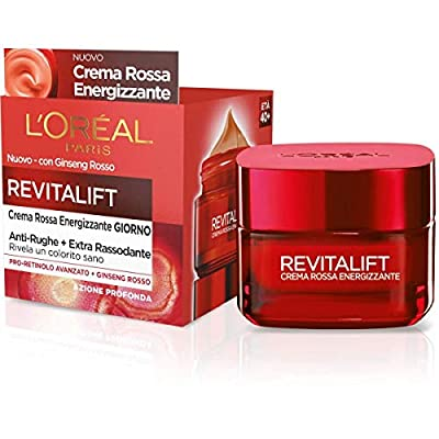 L'Oréal Paris Energising Anti-Wrinkle Revitalift Day Face Cream, Extra Firming Formula Enriched with Red Ginseng and Advanced Pro-Retinol, 50 ml by Loral Paris
