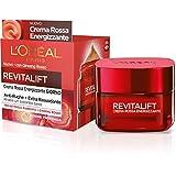 L'Oréal Paris Revitalift - Crema facial de día energizante antiarrugas, fórmula extra reafirmante enriquecida con ginseng rojo y proretinol avanzado, 50 ml