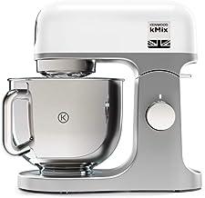 Kenwood Kmx750Wh Keukenmachine, Hoogwaardige metalen Behuizing, Hoogglans Gepolijste 5 Liter, Roestvrijstalen Kom met Hand...