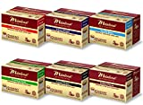 Mitalena Brand - 72 ct. Variety Pack Organic Arabica Low Acid Coffee Pods