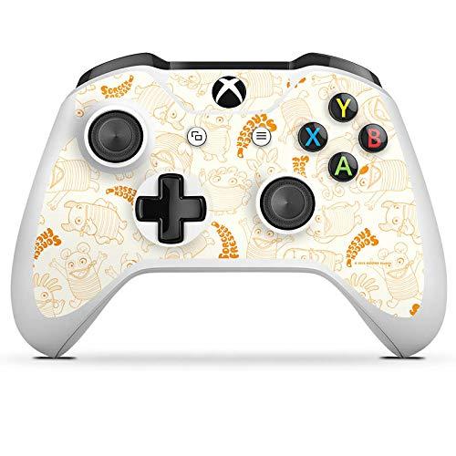 DeinDesign Skin kompatibel mit Microsoft Xbox One S Aufkleber Folie Sticker Sorgenfresser Figur Fanartikel Merchandise