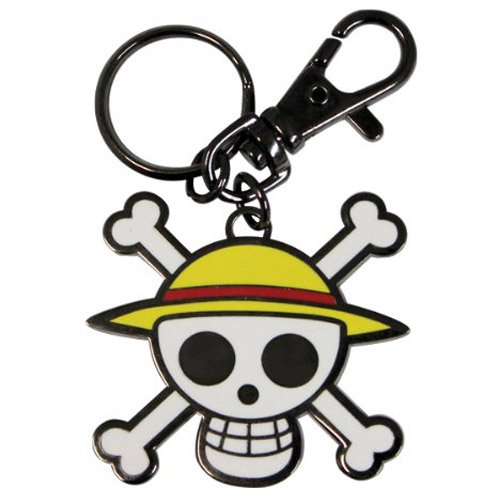 """ABYstyle - ONE PIECE - Porte-clés """"Skull - Luffy"""""""