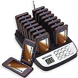 Retekess T113S Sistema de Llamadas Avisador des Clientes Restaurant Pager 16 Localizador y...
