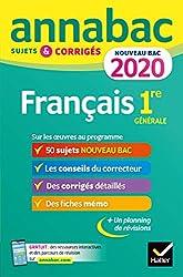 Annales français bac 2020