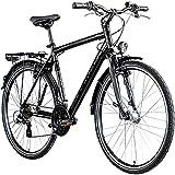 Zündapp T700 700c Trekkingrad Herren Fahrrad Trekking 28 Zoll Trekkingfahrrad StVZO (schwarz, 50...