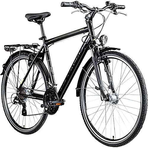 Zündapp T700 700c Trekkingrad Herren Fahrrad Trekking 28 Zoll Trekkingfahrrad StVZO (schwarz, 50 cm)
