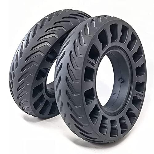 Neumático de scooter eléctrico de 10 pulgadas, paquete de 2 ruedas antipinchazos...