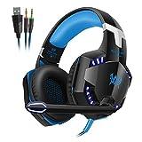 Andoer Each G2000 Over-Ear Game Gaming Headphone Headset Earphone Headband with Mic Stereo