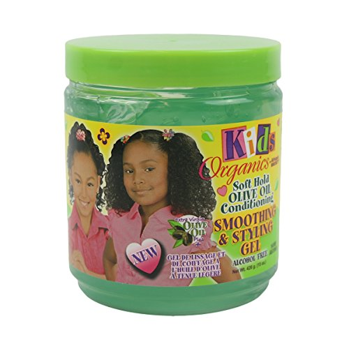 Product Image of the Africa's Best Kids Organics Smooth and Style Gel, 15 Ounce