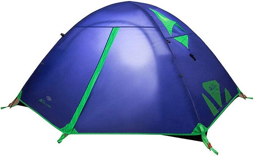 Tente équipements de Plein air Camping en Montagne Froide Camping Chambre Simple Double Double Trois Saisons