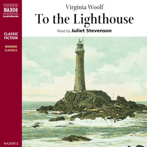 To the Lighthouse                   By:                                                                                                                                 Virginia Woolf                               Narrated by:                                                                                                                                 Juliet Stevenson                      Length: 2 hrs and 37 mins     15 ratings     Overall 4.3