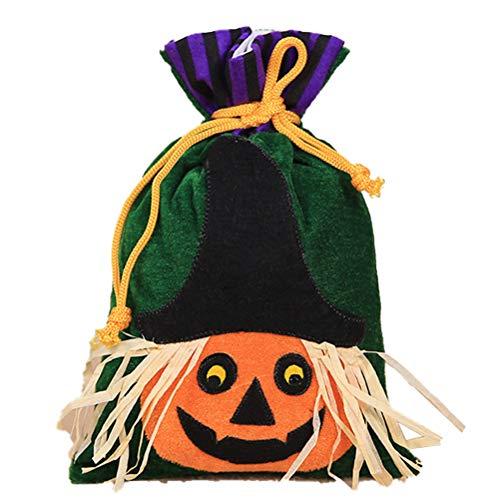 Babitotto - Bolsa de regalo de terciopelo para decoración de Halloween, para...