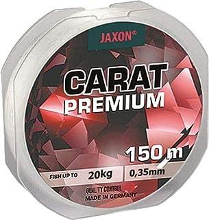 Jaxon Carat Premium - Sedal de pesca (150 m, bobina de 0,10 mm a 0,45 mm, monofilamento)
