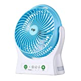 Miady DP 7.5-inch Rechargeable Personal Desk Fan USB Fan 4000mAh Battery Powered Fan 150 Degree Rotated Table...