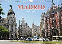 Madrid (Wandkalender 2022 DIN A4 quer): Spaniens koenigliche Hauptstadt (Monatskalender, 14 Seiten )